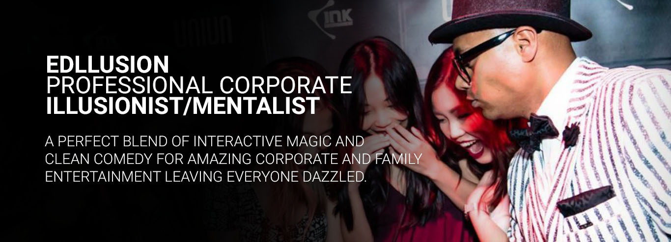 corporate entertainment services magician